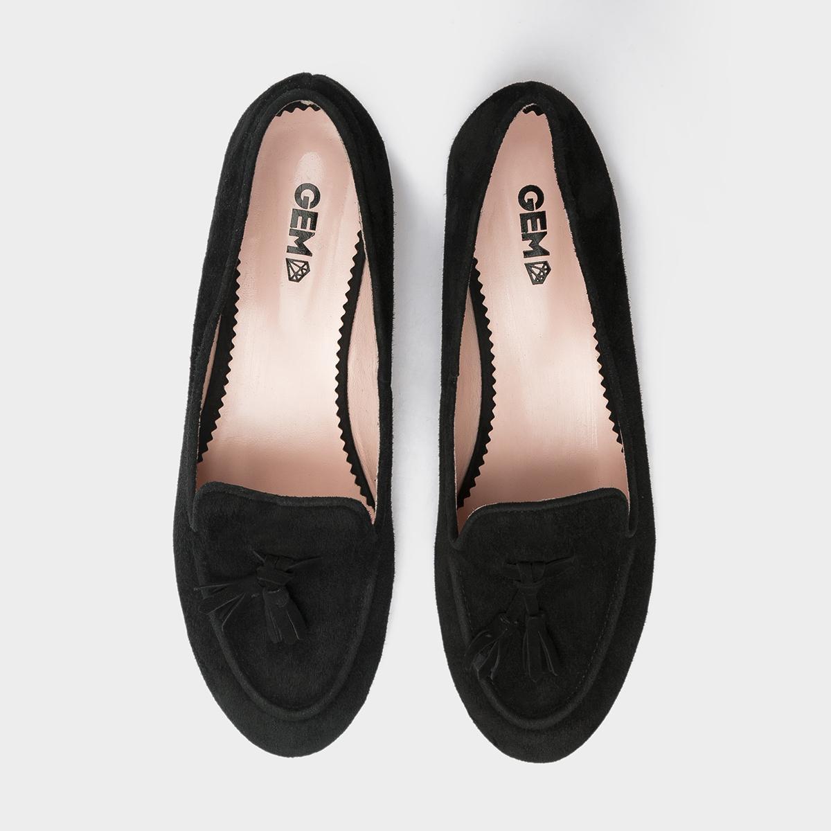 Балетки женские Слиперы 7740-110 черная замша 7740-110chr цена, 2017