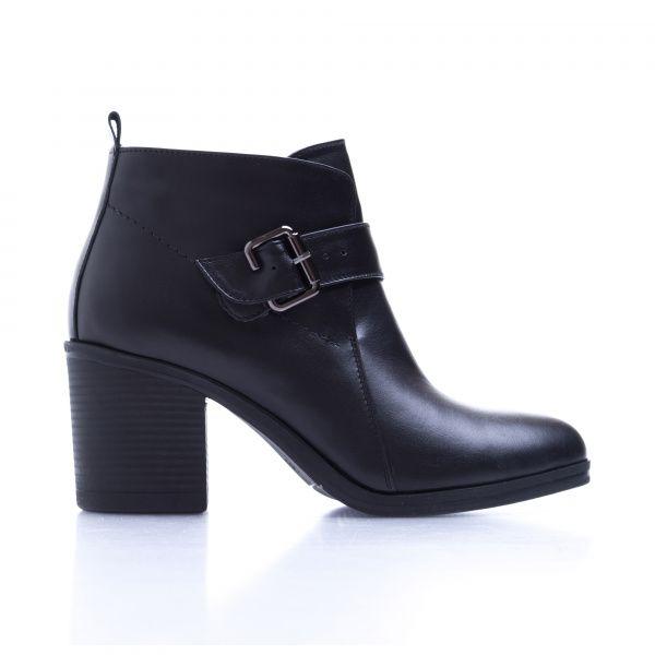 Ботинки женские Ботинки 7746-020 черная кожа. Байка 7746-020 цена, 2017