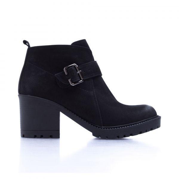 Ботинки для женщин Ботинки 7746-220 черный нубук. Байка 7746-220 выбрать, 2017
