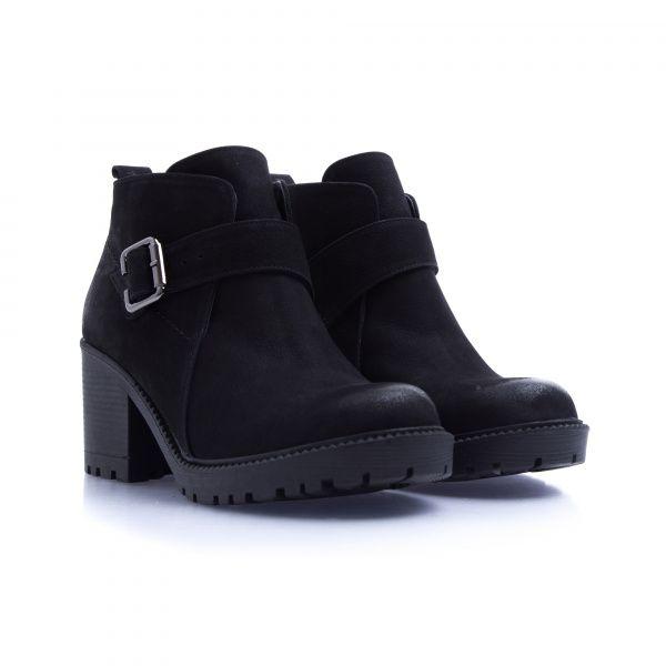 Ботинки для женщин Ботинки 7746-220 черный нубук. Байка 7746-220 цена, 2017