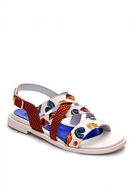 Сандалии женские 786011 Кожаные сандалии с принтом Modus Vivendi 786011 Заказать, 2017