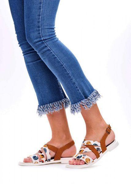 Сандалии женские 786011 Кожаные сандалии с принтом Modus Vivendi 786011 фото, купить, 2017