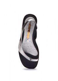 Сандалии женские 786202 Серебряные кожаные сандалии Modus Vivendi 786202 Заказать, 2017