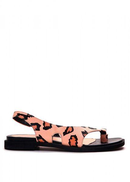 Сандалии женские 786212 Кожаные сандалии с принтом Modus Vivendi 786212 выбрать, 2017