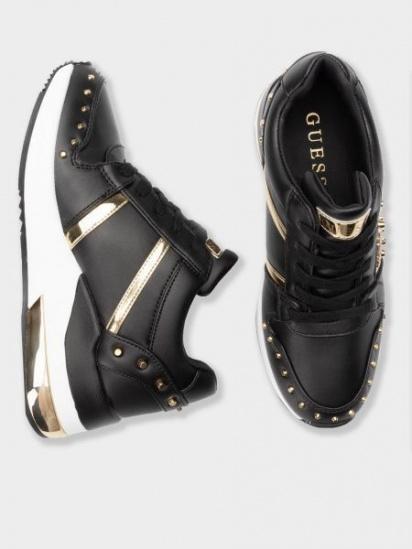 Кросівки для міста GUESS модель FL7JOD-ELE12-BLACK — фото 4 - INTERTOP