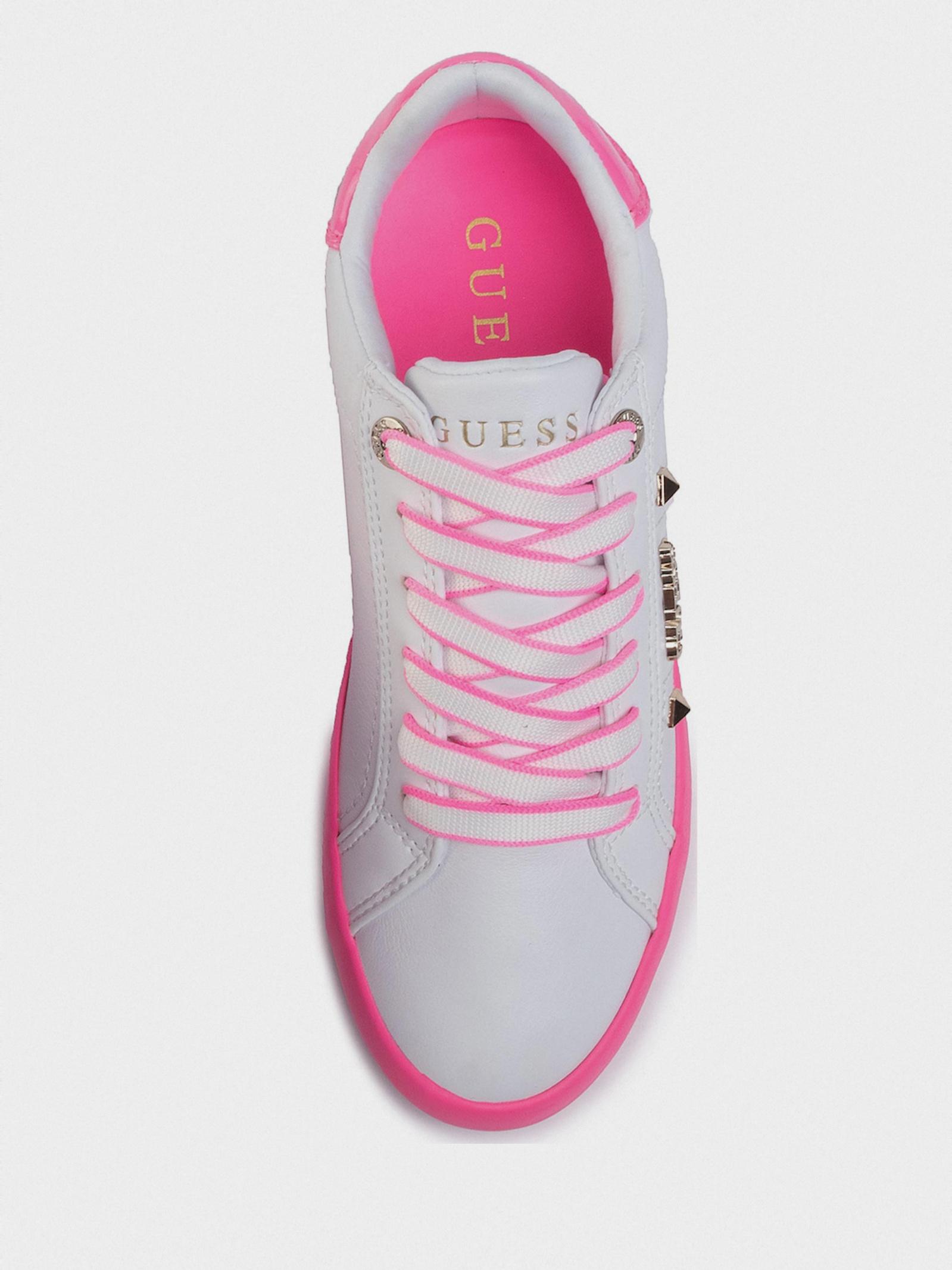 Кеди  для жінок GUESS FL5PUX-LEA12-WHIPI розміри взуття, 2017