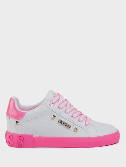Кеди  для жінок GUESS FL5PUX-LEA12-WHIPI купити взуття, 2017