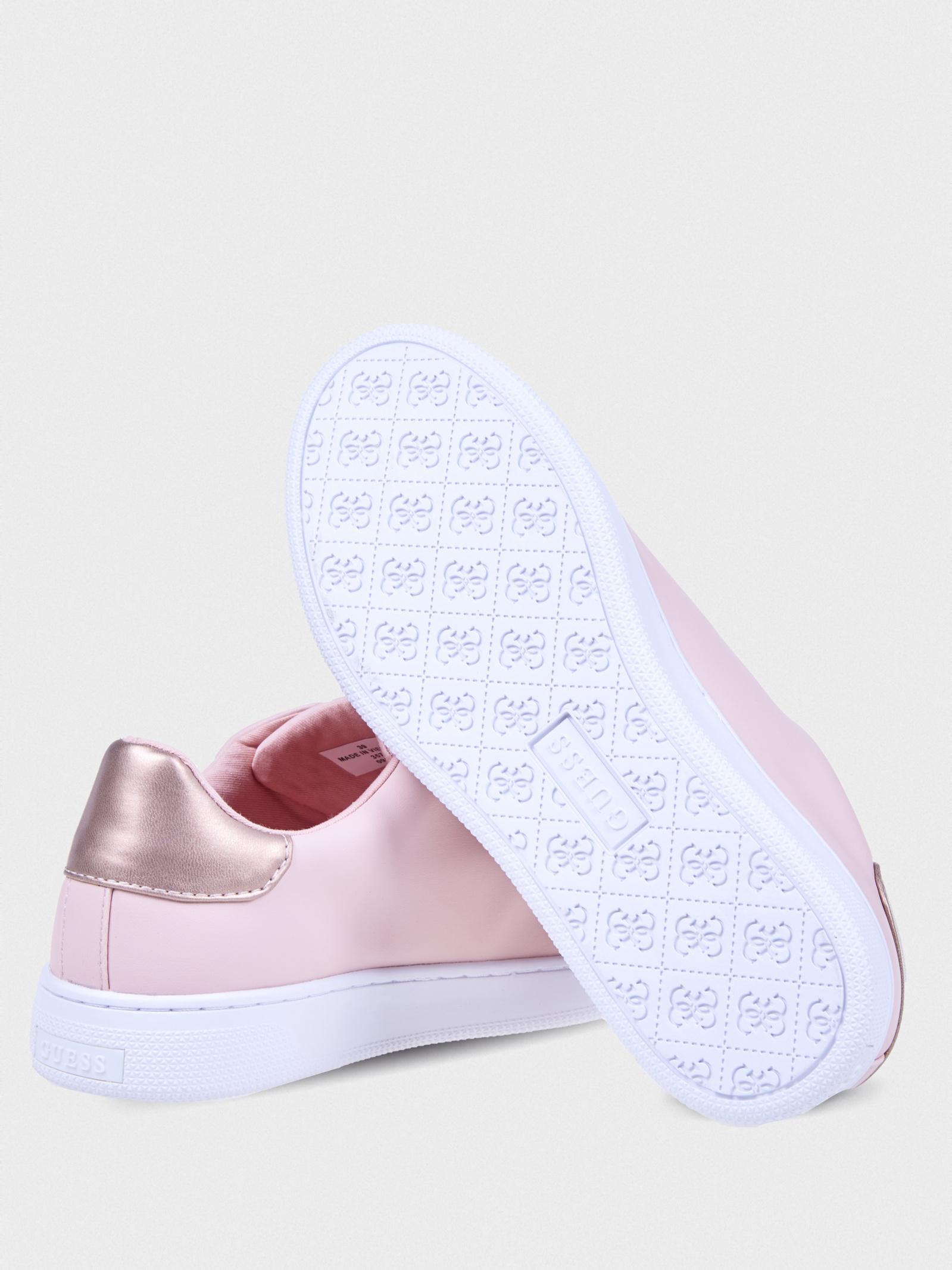 Кеди  для жінок GUESS FL5RID-ELE12-BLUSH FL5RID-ELE12-BLUSH брендове взуття, 2017