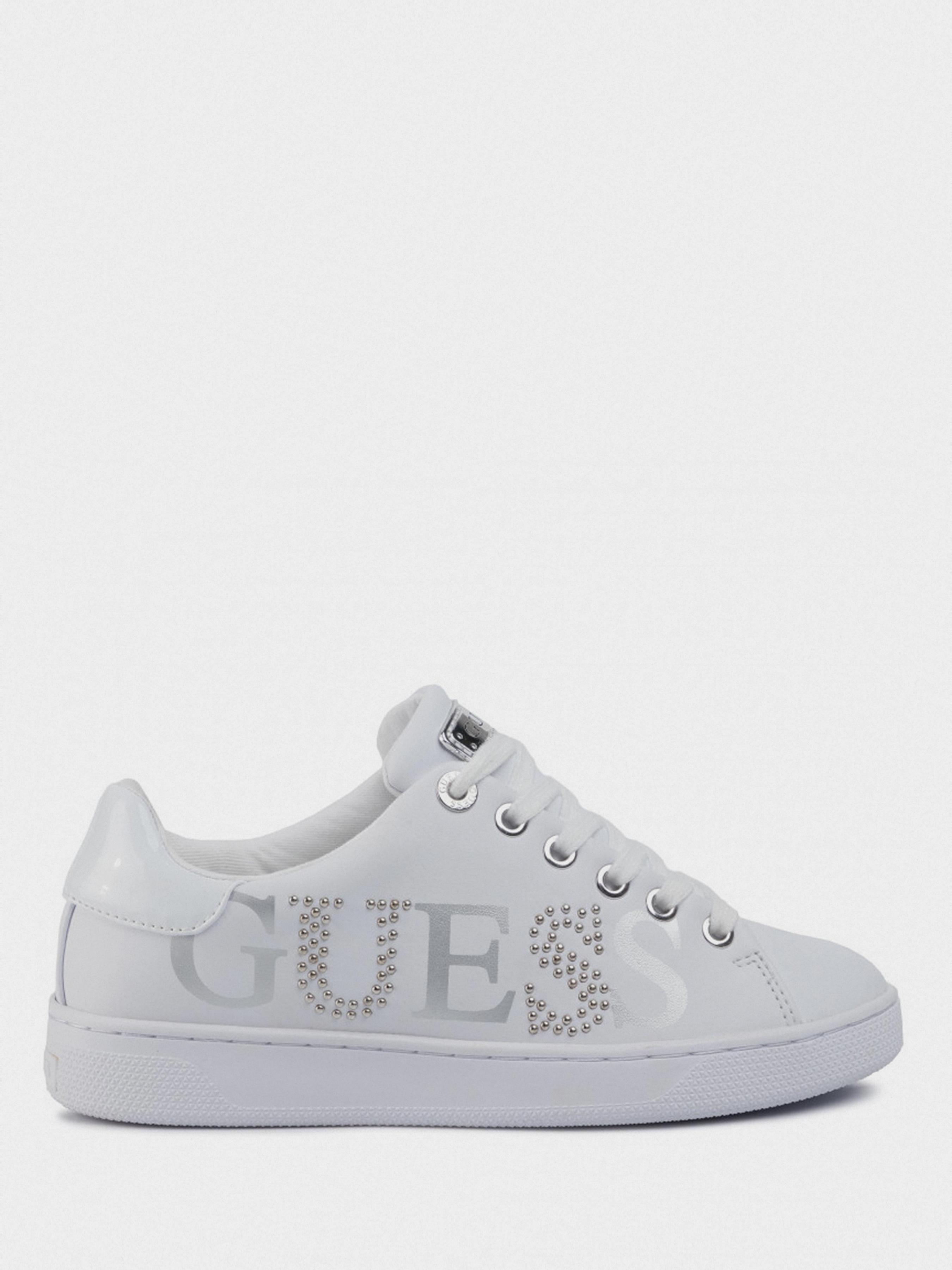 Купить Кеды женские GUESS FL5RID-ELE12-WHITE, Белый