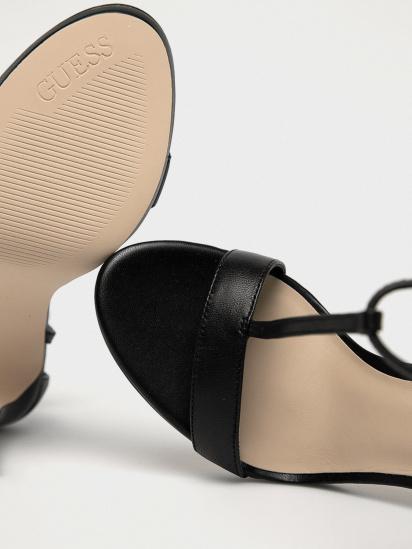 Босоніжки  жіночі GUESS FL6TEU-LEA03-BLACK замовити, 2017