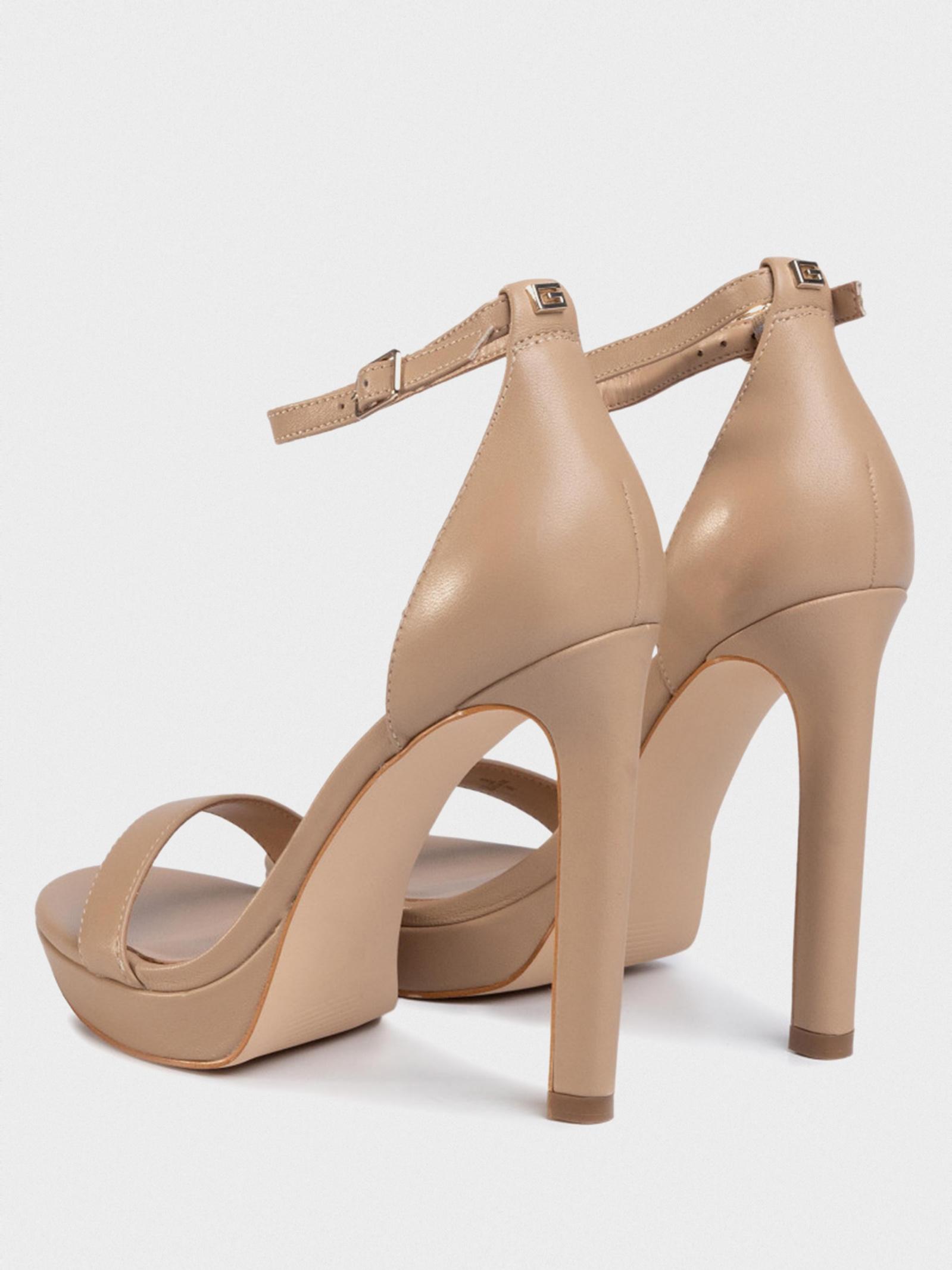 Босоніжки  жіночі GUESS FL6EIA-LEA03-BEIGE купити взуття, 2017