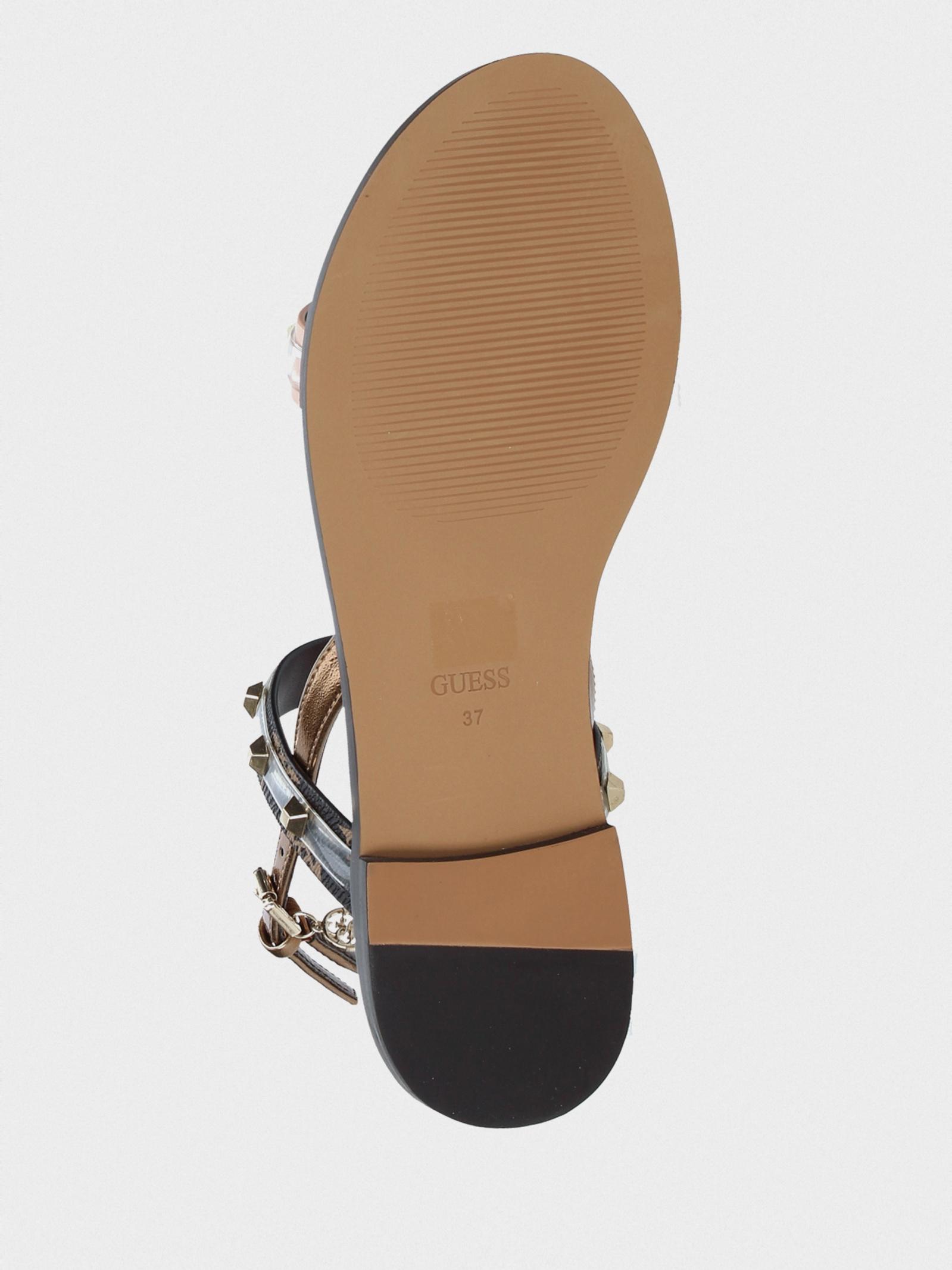 Сандалі  жіночі GUESS FL6OFE-FAL03-NUDE брендове взуття, 2017