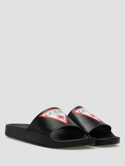 Шльопанці  жіночі GUESS E02Z07-BB00F-A996 брендове взуття, 2017