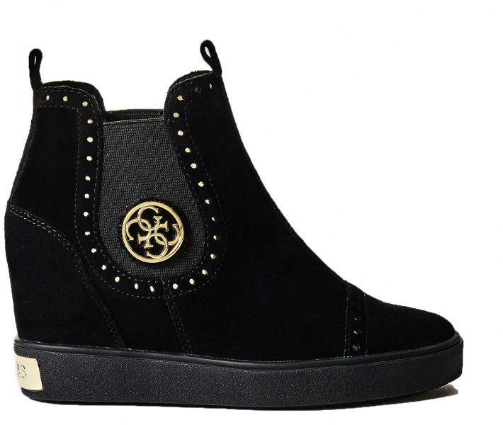 Купить Ботинки женские GUESS FREDDIE 7H9, Черный