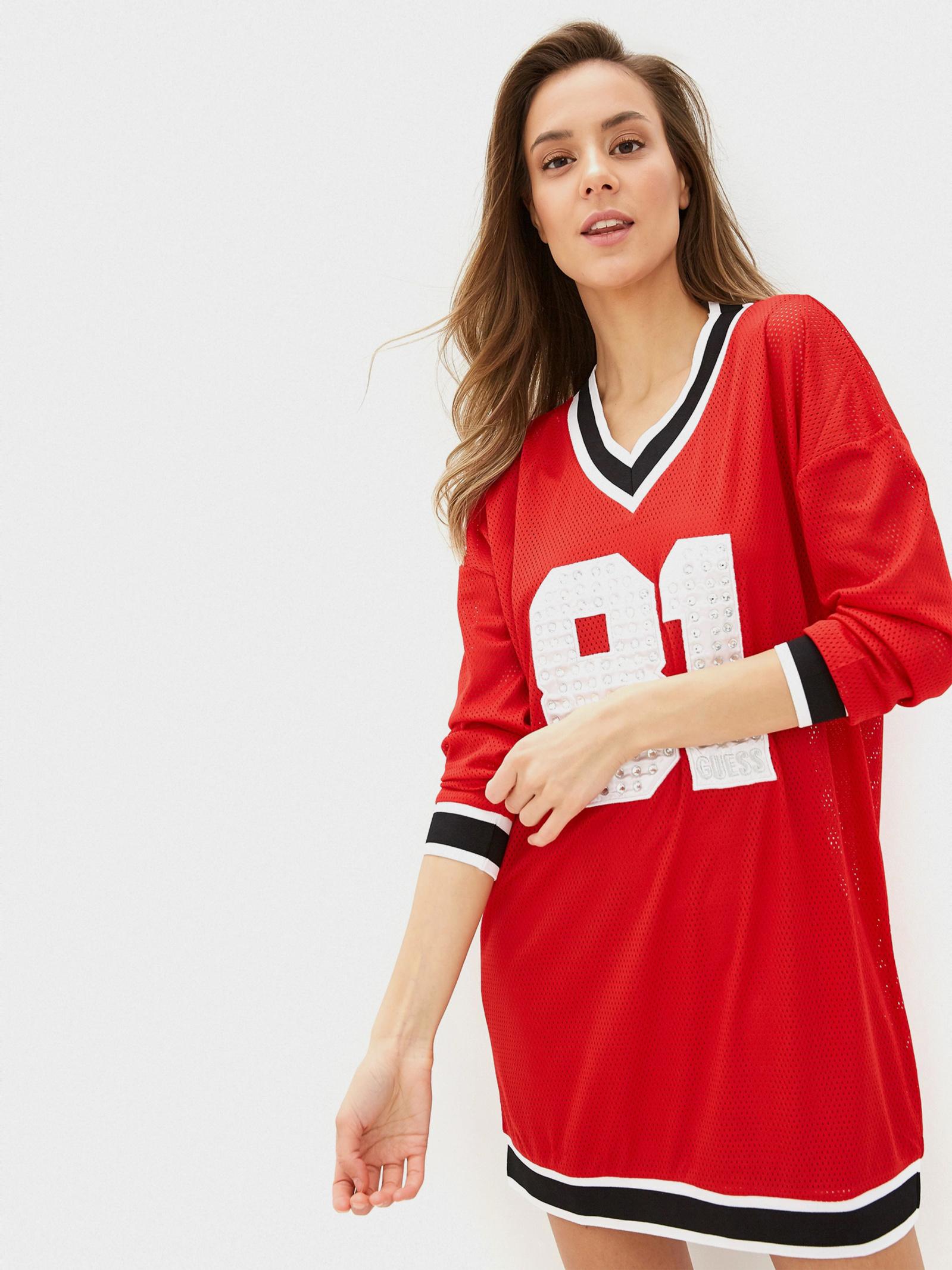 GUESS Сукня жіночі модель W01K0F-K9HG0-G6U2 ціна, 2017