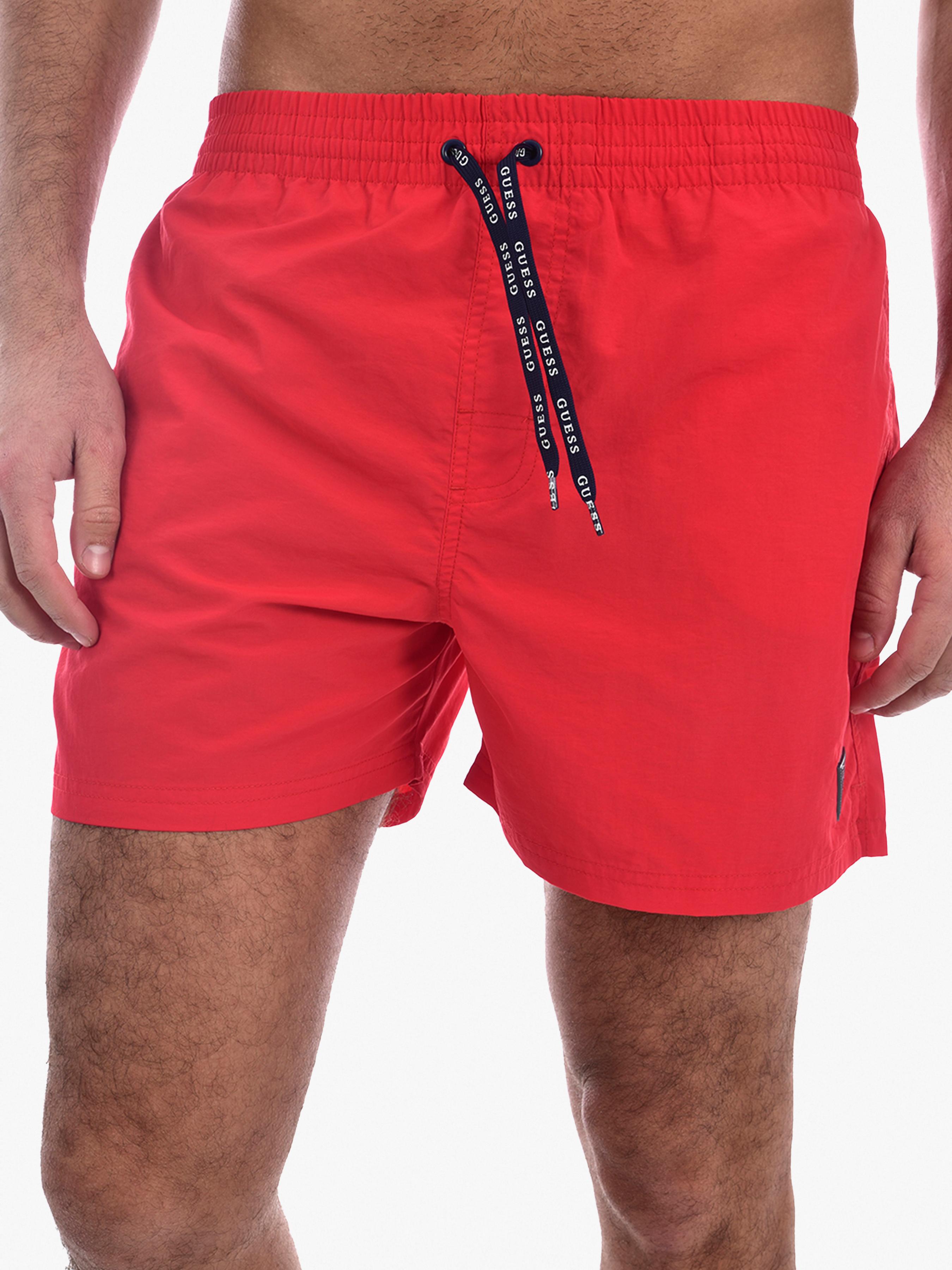 Купить Шорты мужские модель F02T00-TEL27-G542, GUESS, Красный