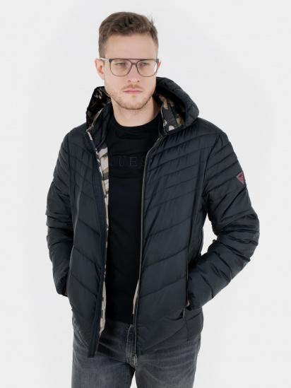 Легка куртка GUESS модель M1RL45-WCQA0-JBLK — фото - INTERTOP
