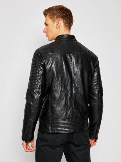 Шкіряна куртка GUESS модель M1RL48-WDMP0-JBLK — фото 2 - INTERTOP