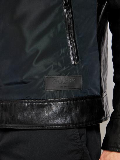 Шкіряна куртка GUESS модель M1RL48-WDMP0-JBLK — фото 5 - INTERTOP