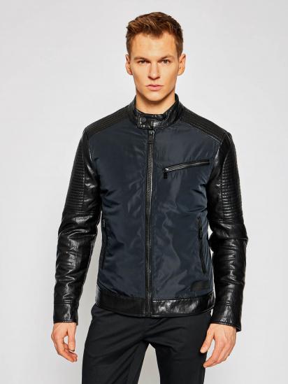Шкіряна куртка GUESS модель M1RL48-WDMP0-JBLK — фото - INTERTOP