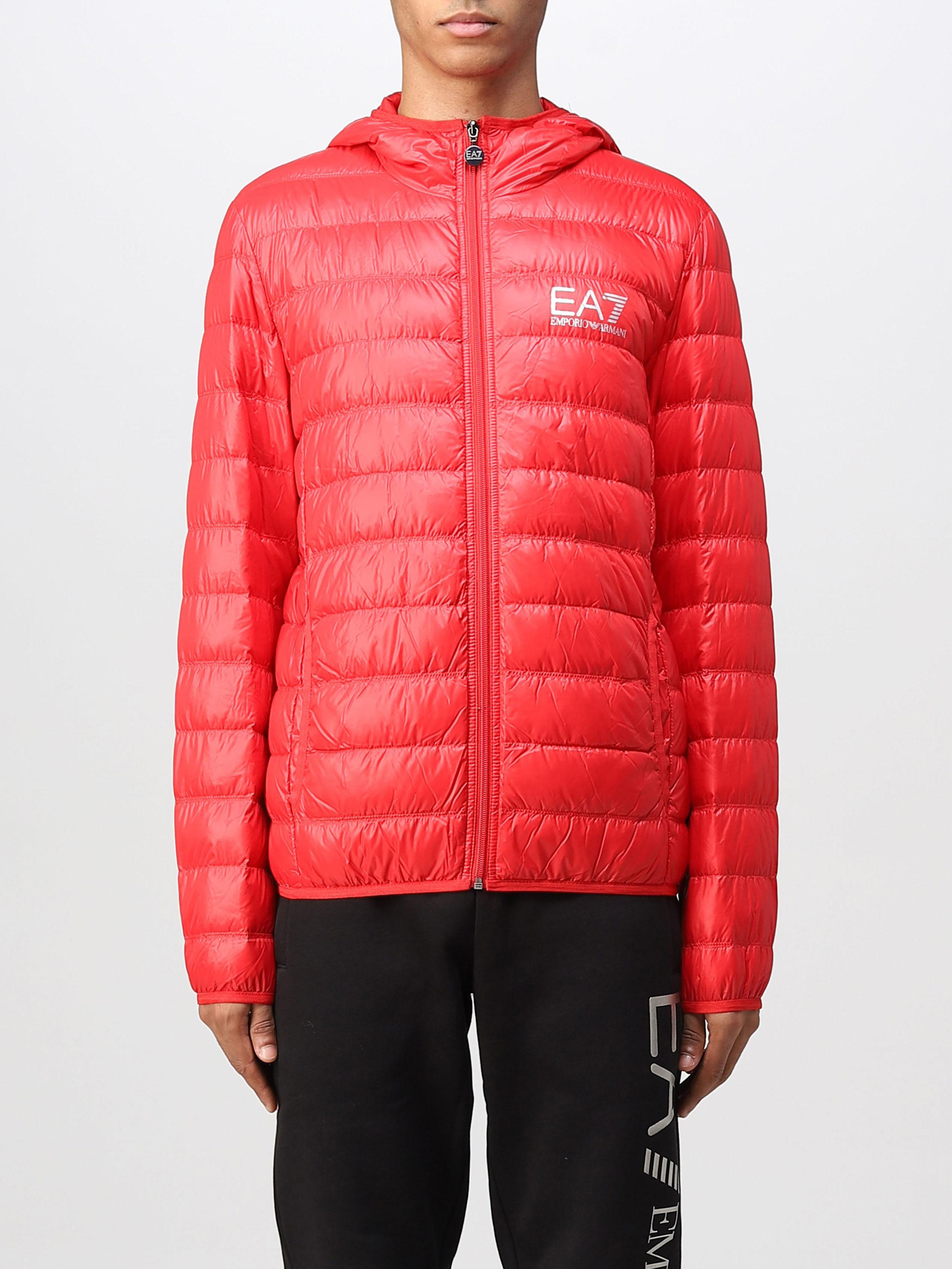 Куртка пуховая мужские EA7 модель 7O14 купить, 2017