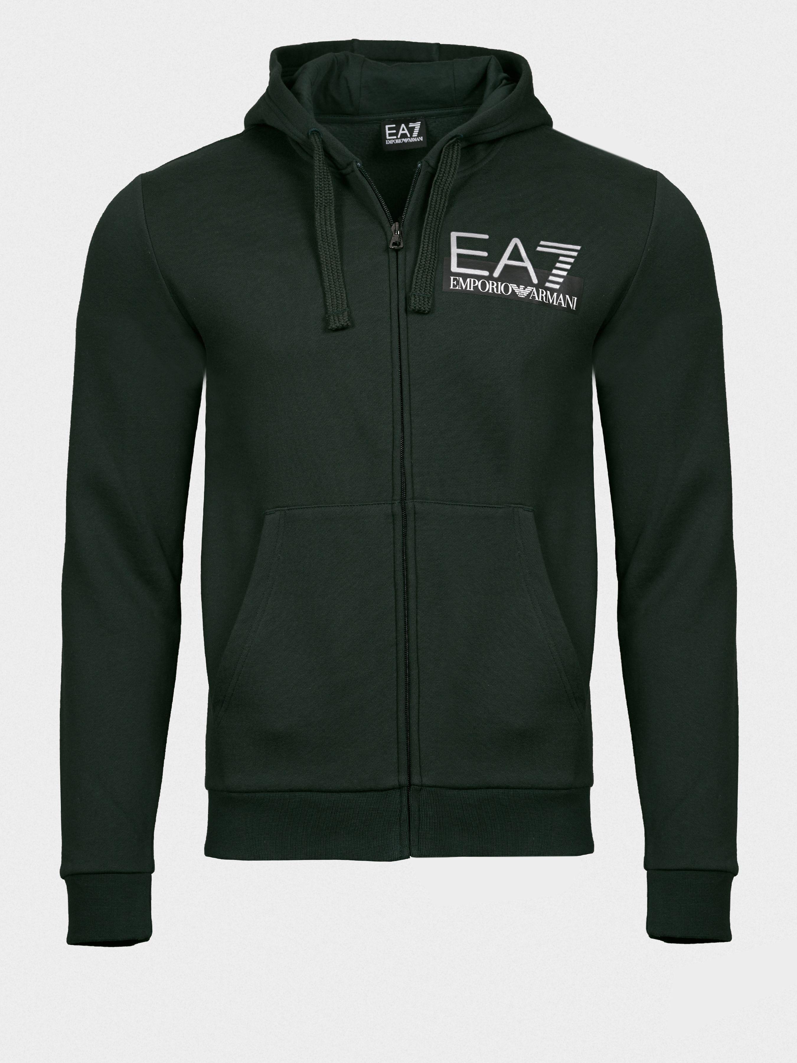Купить Кофты и свитера мужские модель 7O148, EA7, Зеленый