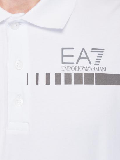 Поло з коротким рукавом EA7 - фото