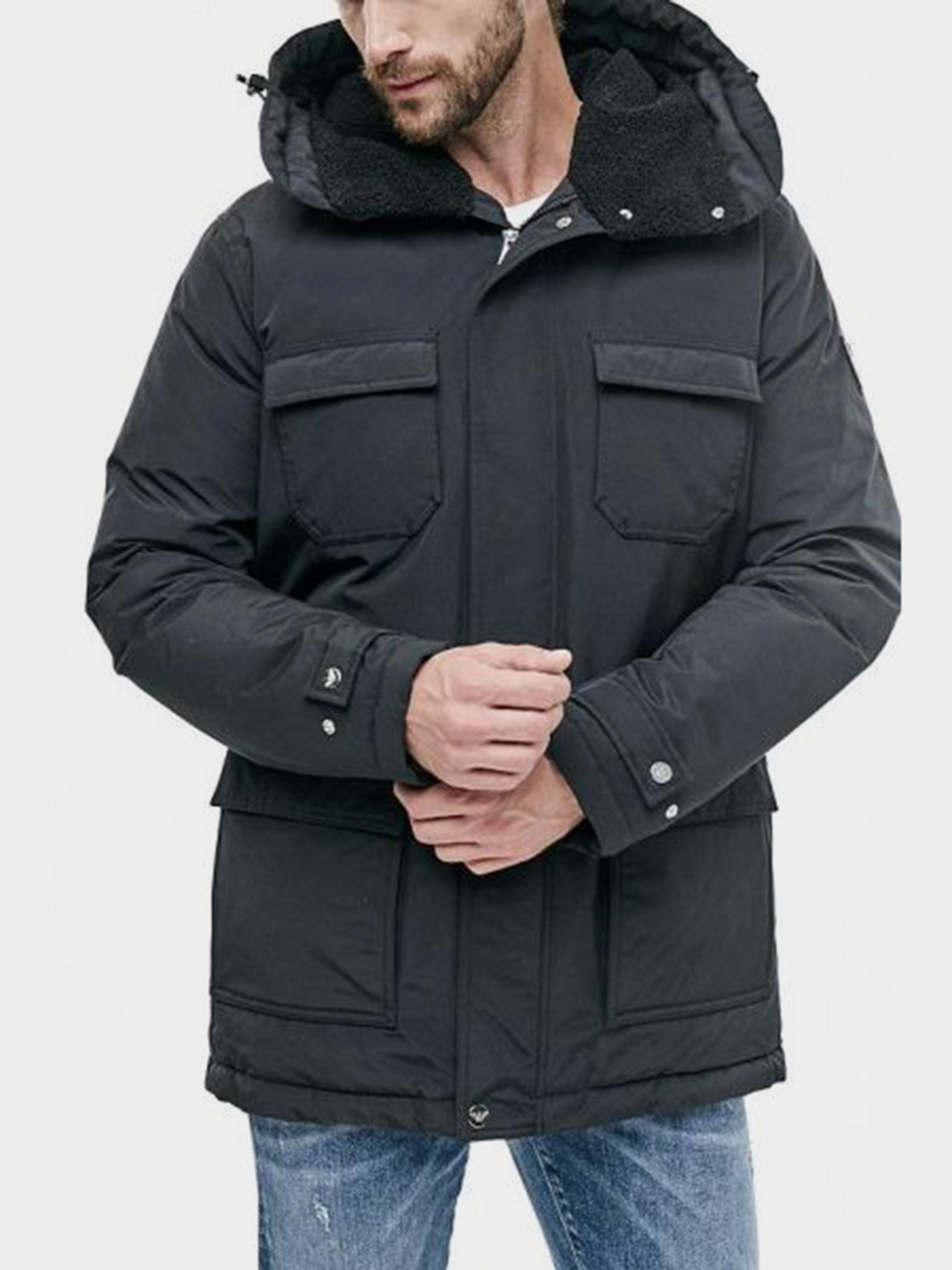 Пальто пуховое мужские EA7 модель 7O2 , 2017