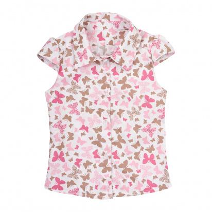 Блуза детские Wuzazu  модель 7OQ~46364-1 качество, 2017