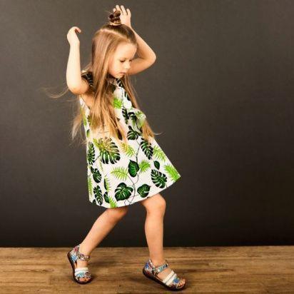 Платье детские Wuzazu  модель 7OQ~47787-1 отзывы, 2017