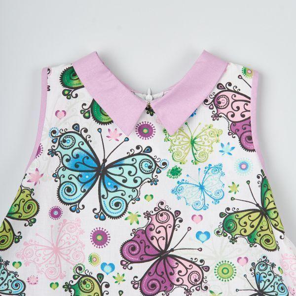 Платье детские Wuzazu  модель 7OQ~47921-1 качество, 2017