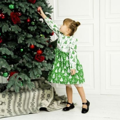 Платье детские Wuzazu  модель 7OQ~50247-1 приобрести, 2017