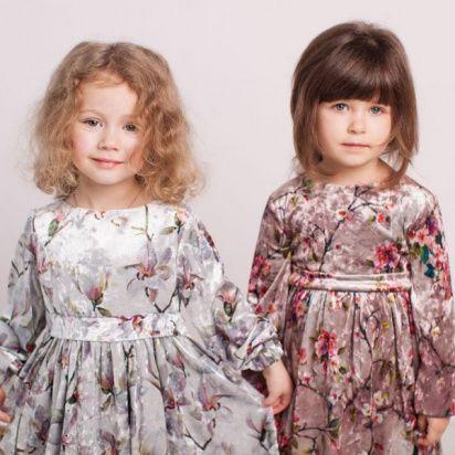 Платье детские Wuzazu  модель 7OQ~51055-1 приобрести, 2017