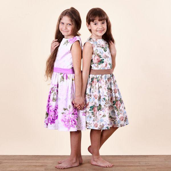 Платье детские Wuzazu  модель 7OQ~61464-2 цена, 2017
