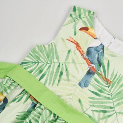 Платье детские Wuzazu  модель 7OQ~61464-7 качество, 2017