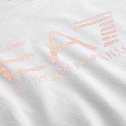 Футболка EA7 модель 3GTT21-TJ12Z-1100 — фото 4 - INTERTOP