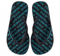 Вьетнамки для женщин EA7 UNISEX PVC/PLASTIC SHOES BEACH 7S5 брендовая обувь, 2017