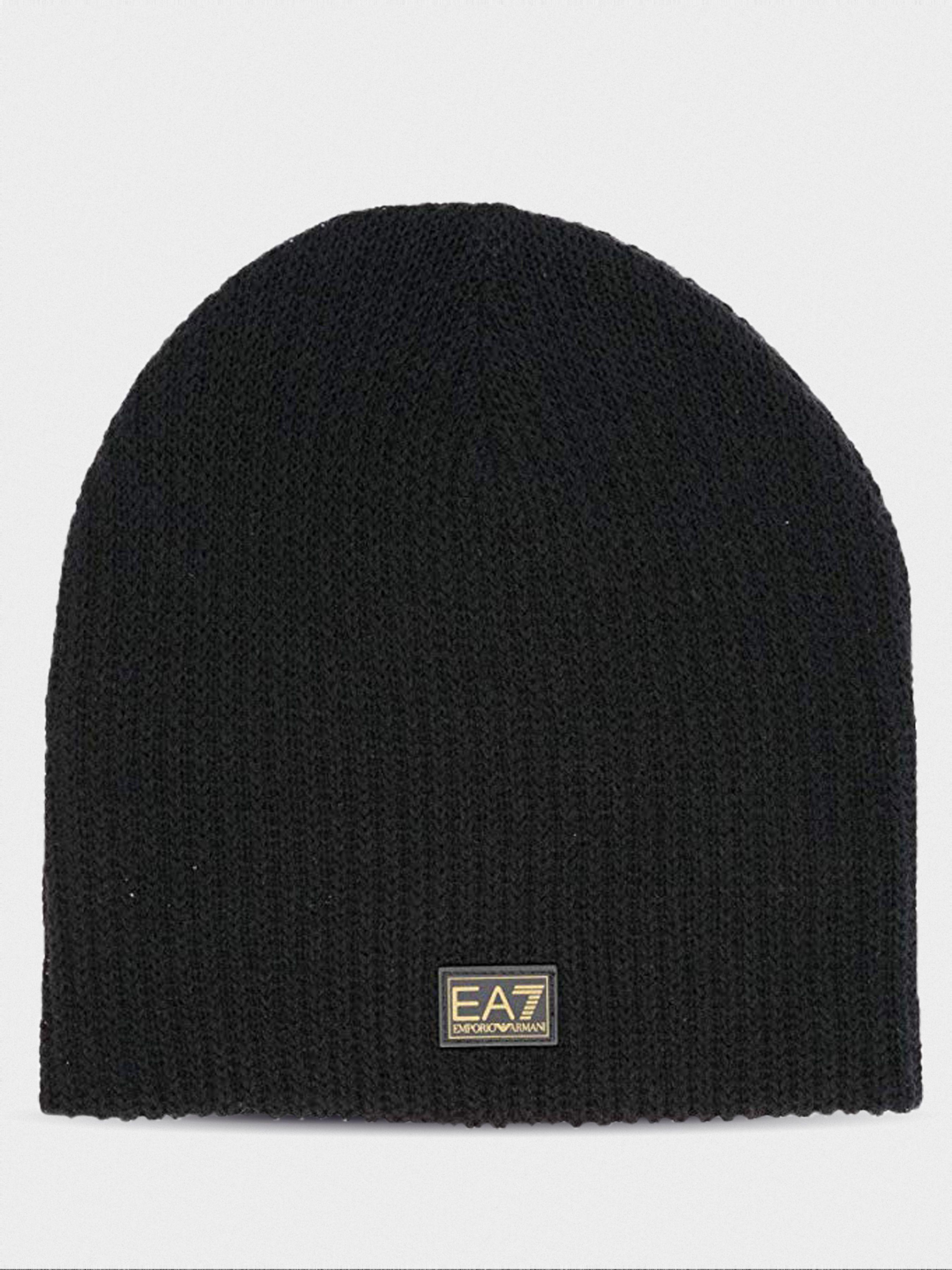 Купить Шапка мужские модель 7T50, EA7, Черный