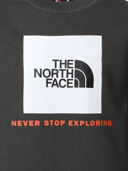 Світшот The North Face Box Crew модель NF0A37FYUG31 — фото 3 - INTERTOP