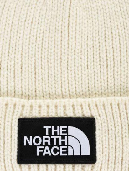 Шапка The North Face Logo Box Cuffed Beanie модель NF0A3FJXRW41 — фото 2 - INTERTOP