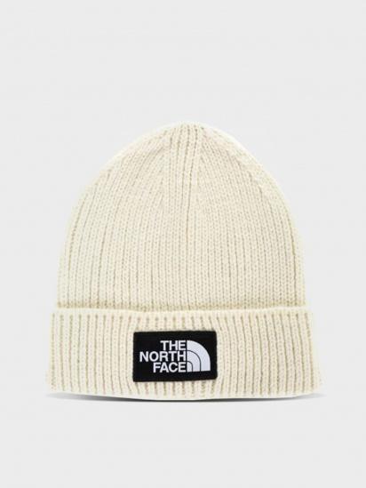 Шапка The North Face Logo Box Cuffed Beanie модель NF0A3FJXRW41 — фото - INTERTOP