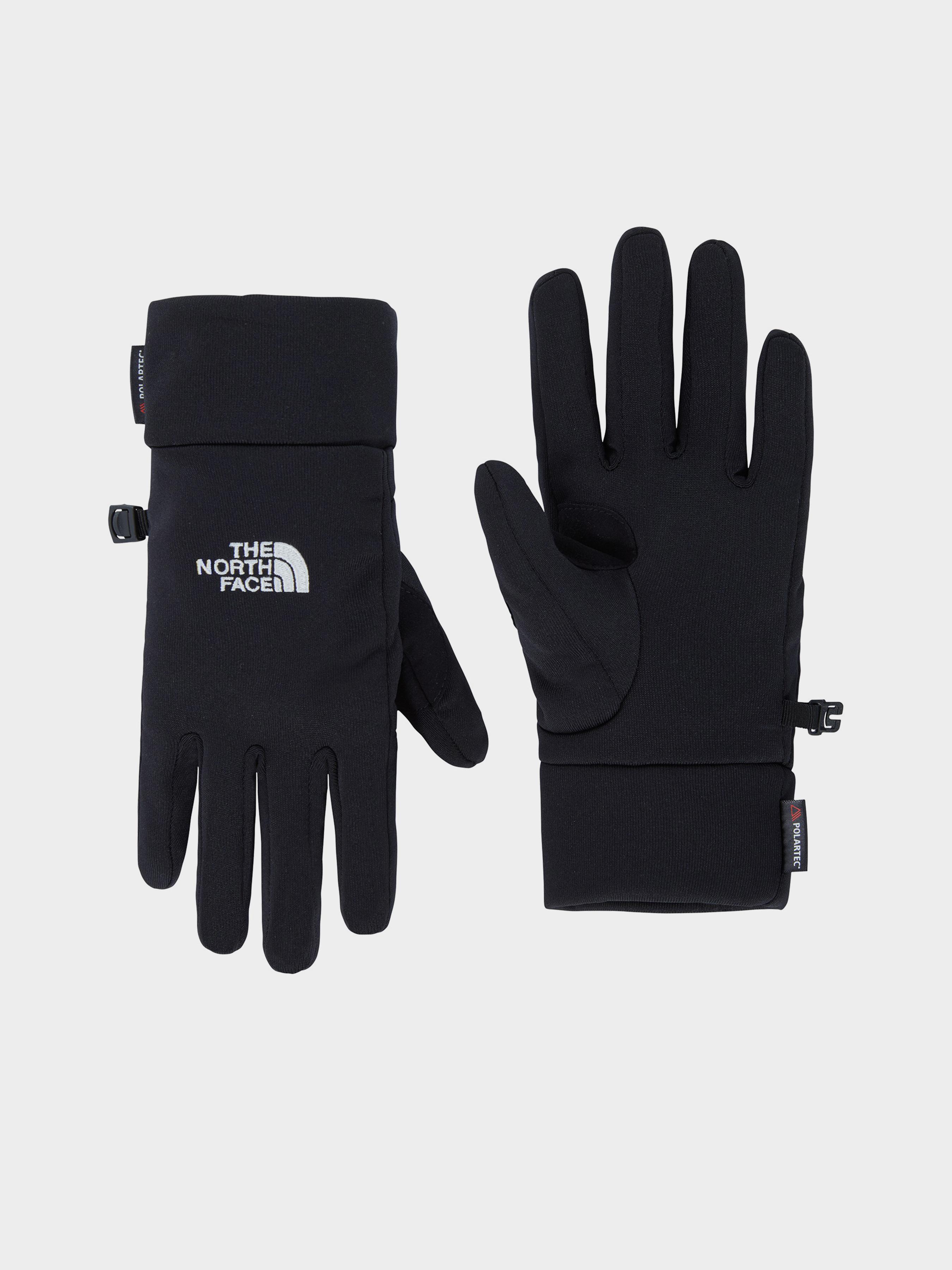 Купить Перчатки и варежки женские модель 7Z77, The North Face, Черный