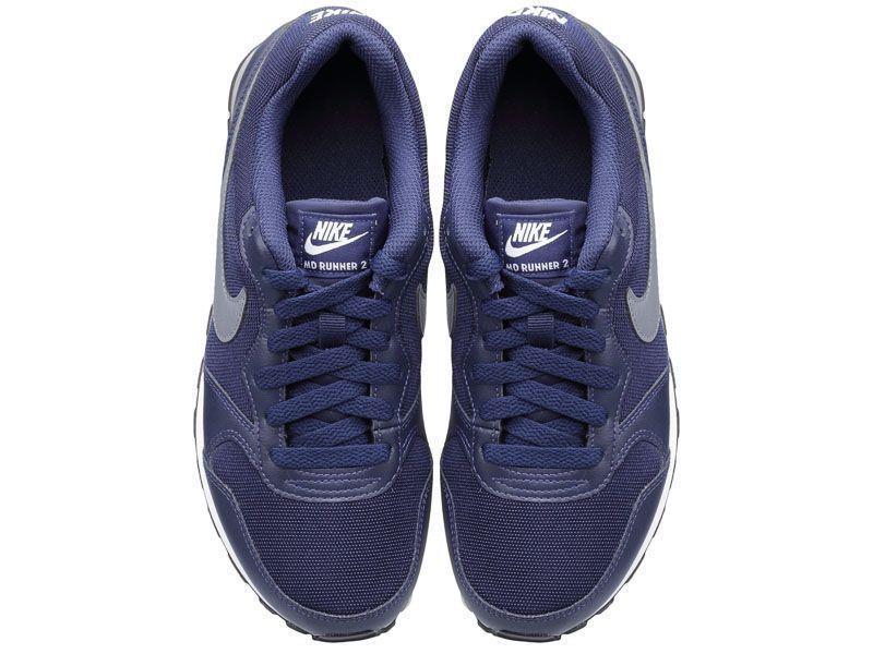 Кроссовки детские NIKE MD RUNNER 2 (GS) Blue 807316-404 размерная сетка обуви, 2017