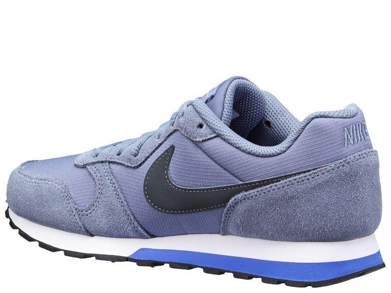 Кроссовки для детей NIKE MD RUNNER 2 (GS) Blue/Black 807316-408 обувь бренда, 2017