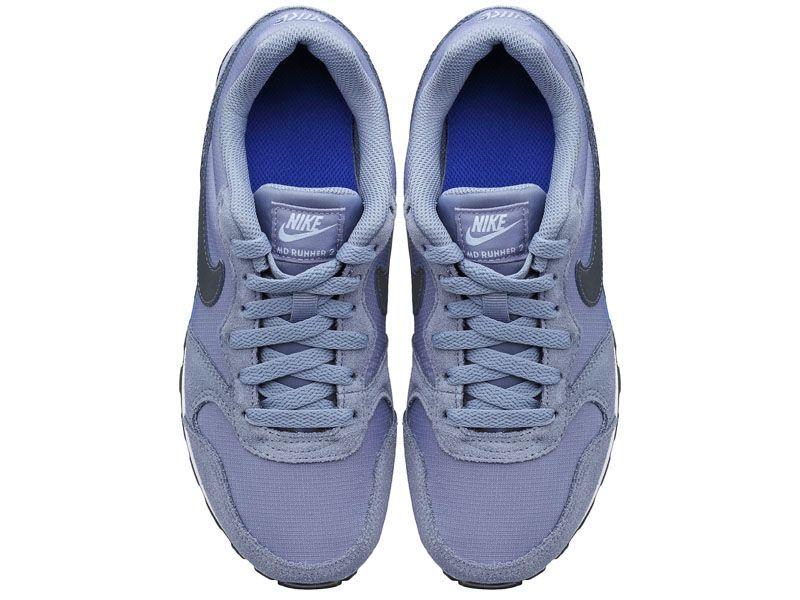Кроссовки для детей NIKE MD RUNNER 2 (GS) Blue/Black 807316-408 брендовая обувь, 2017