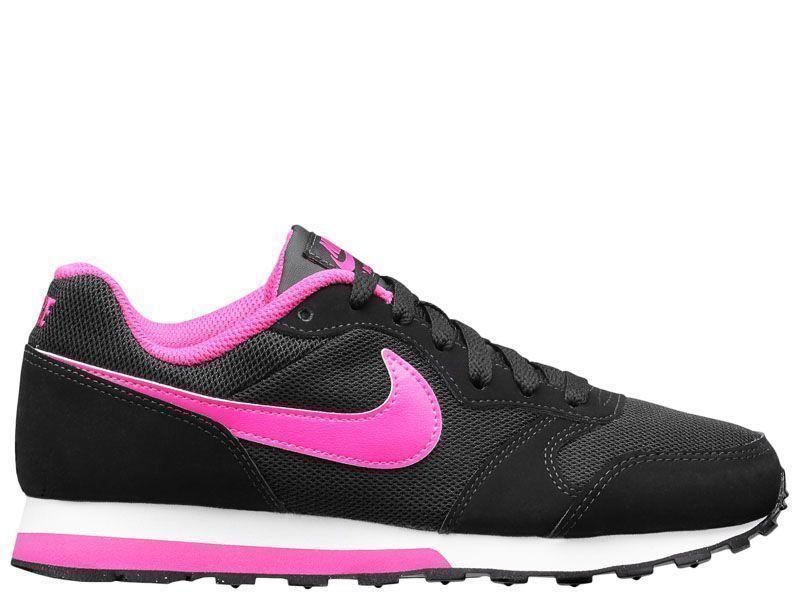 Кроссовки для детей NIKE MD RUNNER 2 (GS) Black/Pink 807319-006 продажа, 2017