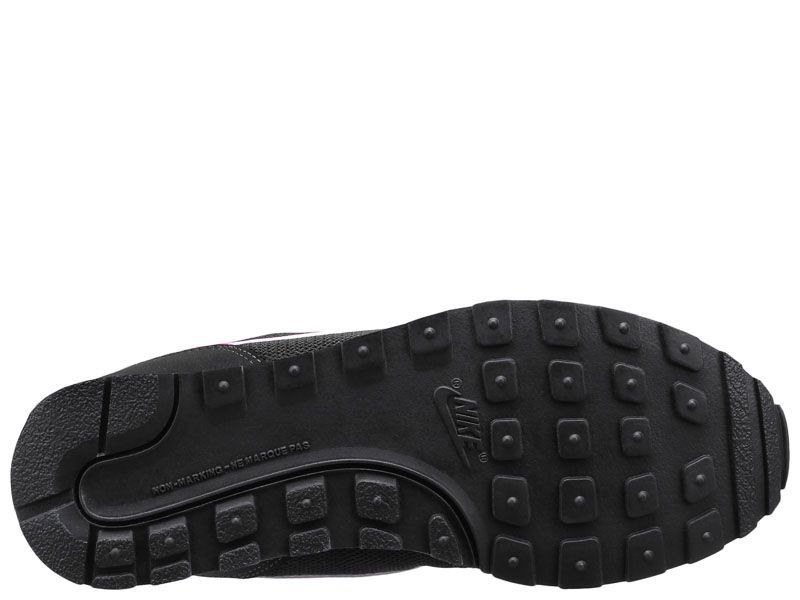 Кроссовки для детей NIKE MD RUNNER 2 (GS) Black/Pink 807319-006 фото обуви, 2017