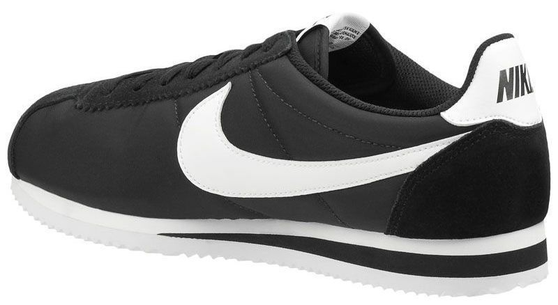 d1b96c59 Кросівки для чоловіків Nike Classic Cortez Nylon Black 807472-011 взуття  бренду, 2017