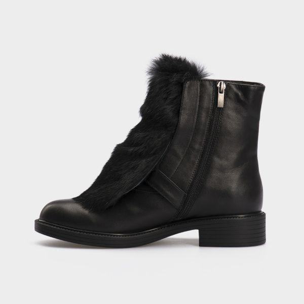 Ботинки женские Ботинки 815762331 черная кожа. Шерсть 815762331 выбрать, 2017