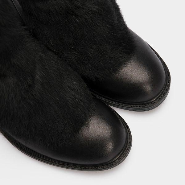 Ботинки женские Ботинки 815762331 черная кожа. Шерсть 815762331 обувь бренда, 2017